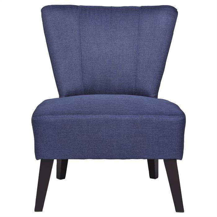 Lounge Sessel CAIRO Stoffbezug, blau