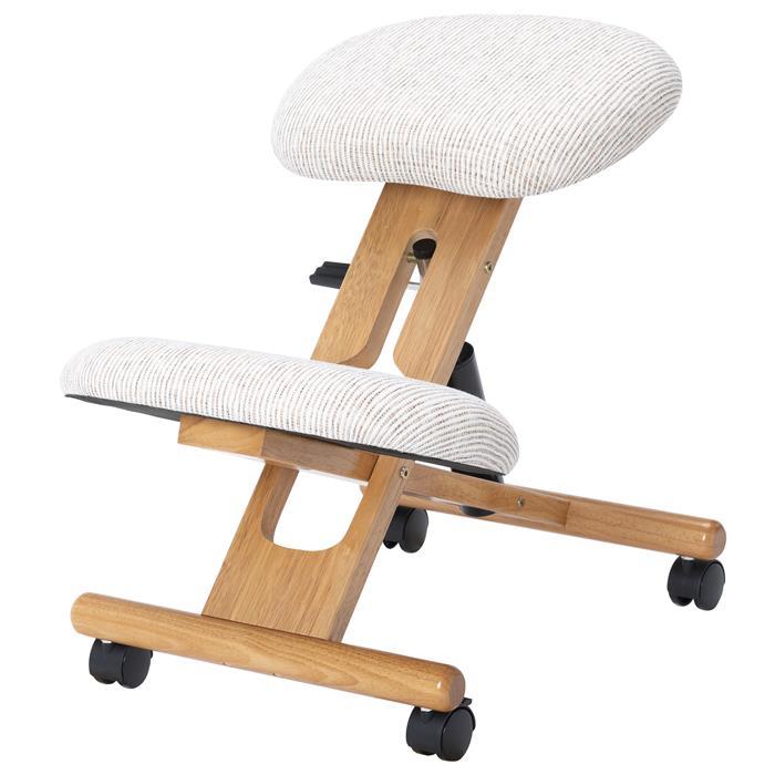 Kniehocker VILLACH höhenverstellbar, ergonomisch in beige