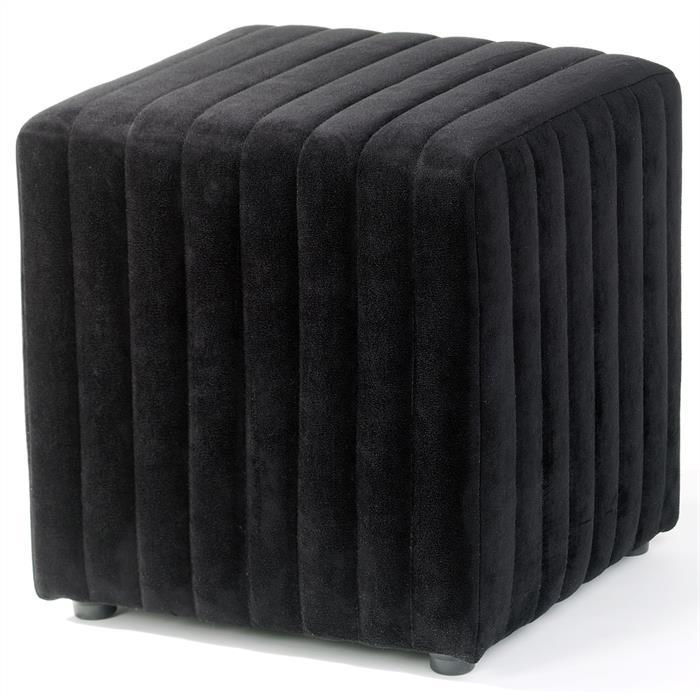 Sitzhocker Sitzwürfel EMIRA in schwarz