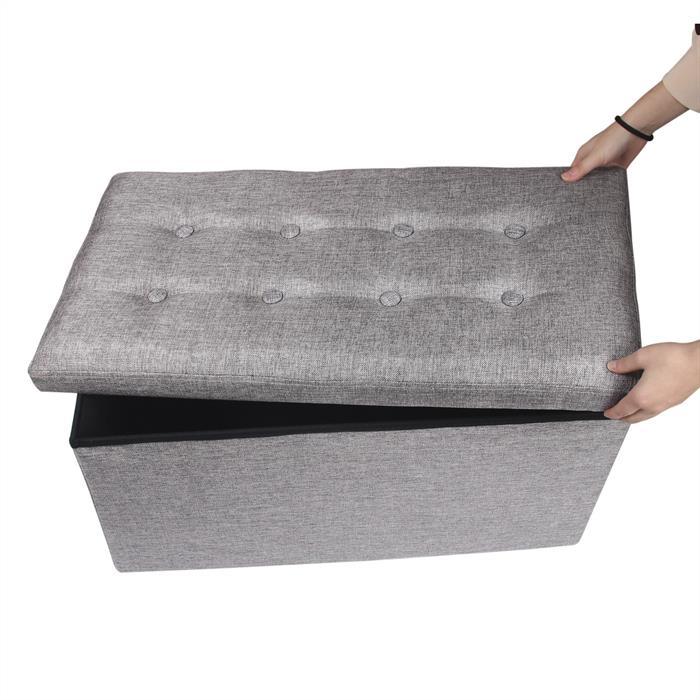 Sitzbank CAMILA in grau, faltbar
