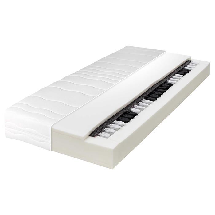 7 zonen taschenfederkern matratze 90x200 cm mobilia24. Black Bedroom Furniture Sets. Home Design Ideas
