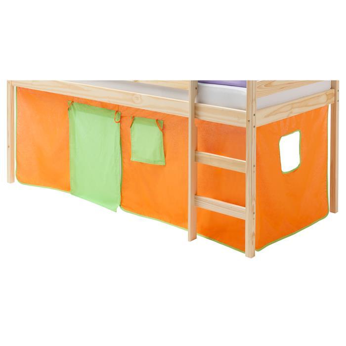 Vorhang CLASSIC, in grün/orange