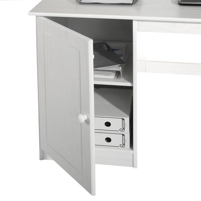 Schreibtisch MANAGER in weiß