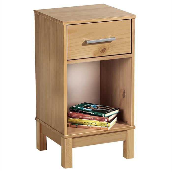 nachtkommode nachttisch nachtk stchen nachtkonsole kiefer lackiert boxspringbett ebay. Black Bedroom Furniture Sets. Home Design Ideas
