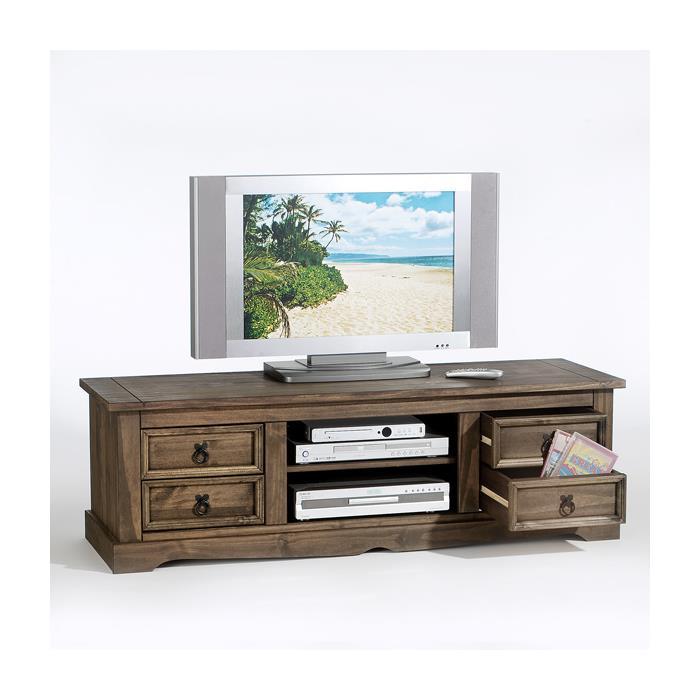 mexiko tv m bel lowboard tequila im mexico stil kolonial mobilia24. Black Bedroom Furniture Sets. Home Design Ideas