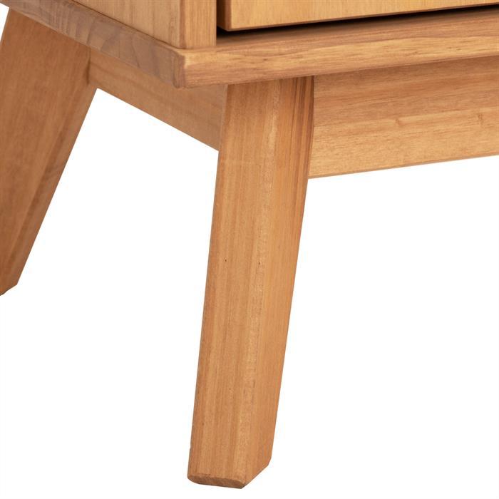 Lowboard TIVOLI 2 Türen skandinavisches Design, gebeizt