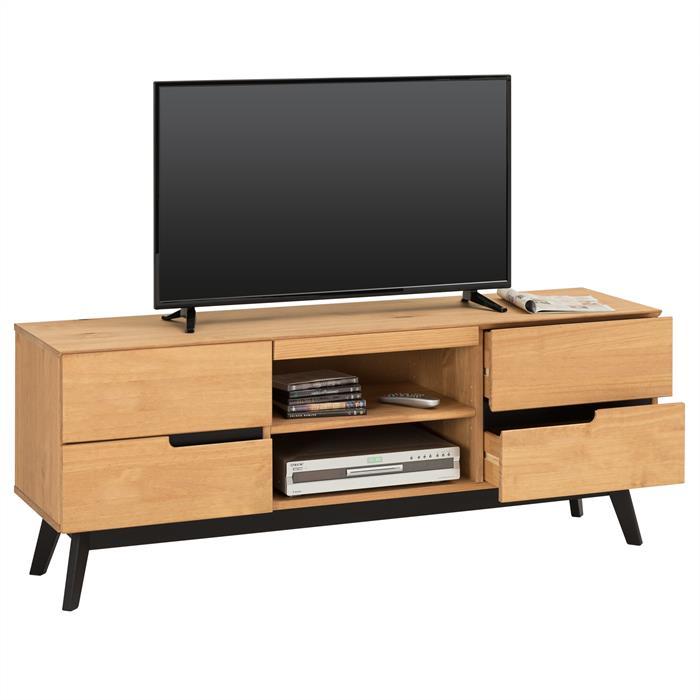Lowboard TV Möbel TIBOR, braun