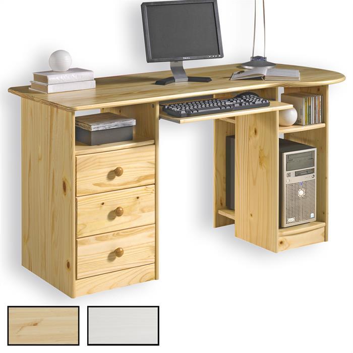 PC-Schreibtisch BOB in mehreren Farben