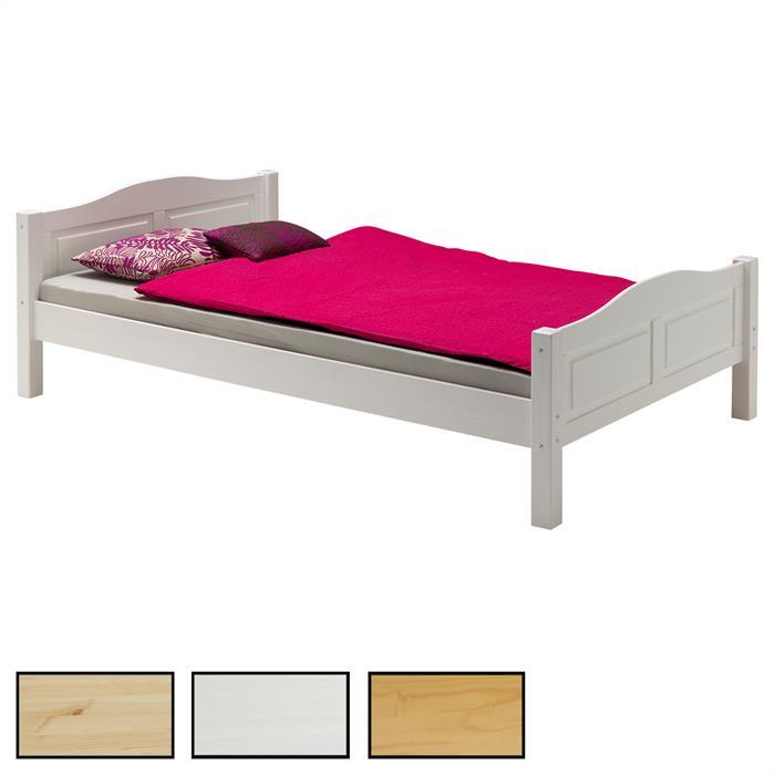 Bett Landhausbett HENRIK, 4 Größen, 3 Farben