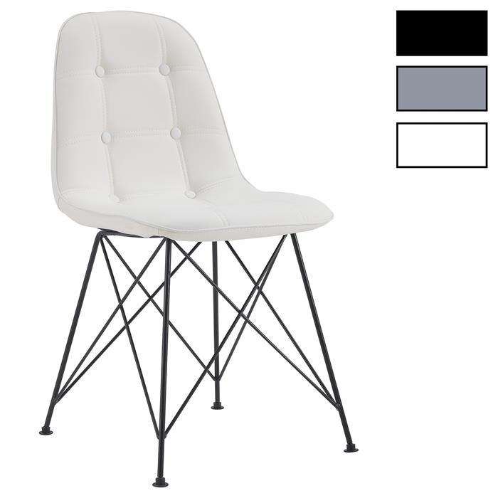 Esszimmerstuhl IMRAN im 4er Set mit Kunstlederbezug