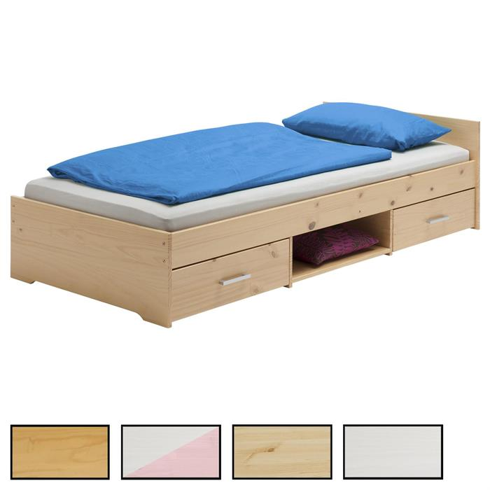 Einzelbett KAI in 5 Farben, 90 x 200 cm