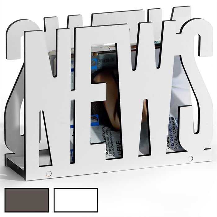Zeitungsständer NEWS in 2 Farben