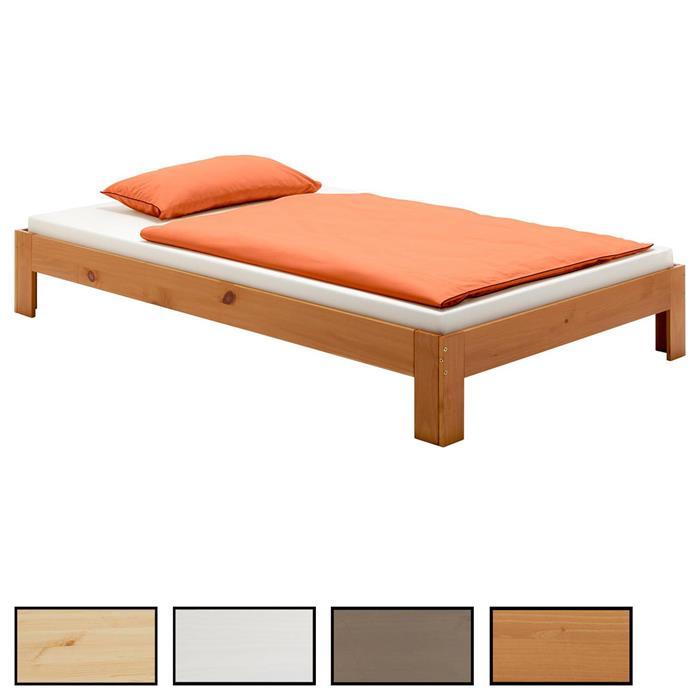 Futonbett THOMAS in 4 Farben und 5 Größen