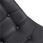 Esszimmerstuhl ALVARO im 4er Set mit Kunstlederbezug in schwarz
