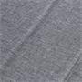 Schwingstuhl LETICIA mit Stoffbezug in grau, 4er Pack