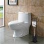 WC Garnitur ONA in schwarz, freistehend