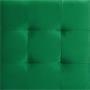 Würfelhocker BAZAR aus Samt Stoff in grün