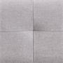 Futonbett CORSE 160 x 200 cm Stoffbezug in grau inkl. Lattenrost
