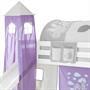 Turm PRINZESSIN in lila weiß