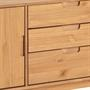 Anrichte TIVOLI 2 Türen 3 Schubladen skandinavisches Design, gebeizt