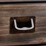 Anrichte Sideboard SAVONA 3 Türen grau