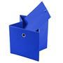 Stoffbox ELA faltbar 2er Pack blau
