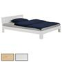 Bett THOMAS Kiefer massiv 140x200 cm